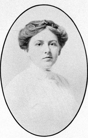 Marjory Stoneman Douglas - Marjory Stoneman in her senior year at Wellesley College