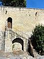 Dourdan (91), château, courtine sud 2.jpg