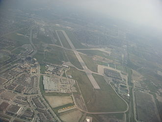 Downsview Airport - Image: Downsview Airport 2011