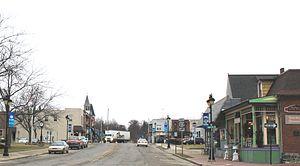 Fenton, Michigan - Downtown Fenton, Leroy Street