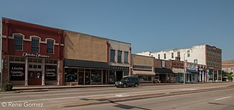 Terrell, Texas - Downtown Terrell, Texas