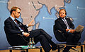Dr Jens Weidmann, President of the Deutsche Bundesbank and Stuart Popham, Chairman Designate, Chatham House (6878035332).jpg