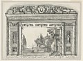 Drawing, Proscenium and Curtain, Little Theater of the Orphans, Faenza, 1869 (CH 18355581).jpg