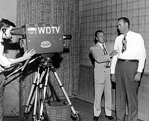 DuMont Television Network - WDTV broadcast of We, the People on April 18, 1952. The guest is New York Yankees player Bill Bevens.