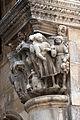 Dubrovnik, palazzo del rettore, portico, capitello di michelozzo 06.JPG