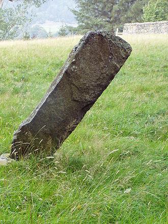 Dunachton - The Dunachton Stone. Class I Pictish stone