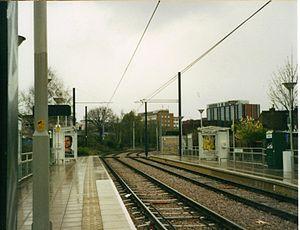 Dundonald Road tram stop - Image: Dundonal Rd tram stop 2006