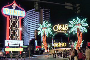 Dunes (hotel and casino) - The Dunes, and Oasis Casino, in 1983