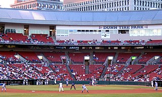 Sahlen Field baseball park in Buffalo, New York, USA
