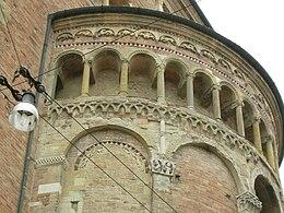 Duomo di parma, abside sx 01