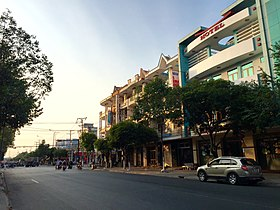 Duong Hung vuong, phuong 3. Tp Tanan, Longan - panoramio.jpg