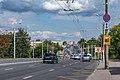Dzianisaŭskaja street (Minsk, August 2021).jpg