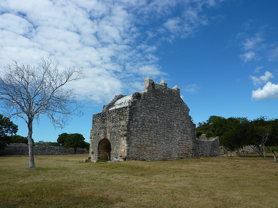 Dzibilchaltún - Spanish Church - P1110771