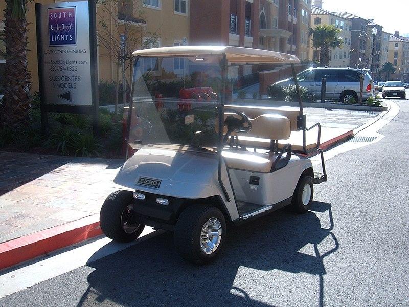 Image:E-Z-GO golf cart.JPG