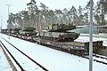 EAS M1A2s arrive in Grafenwoehr (12234704094).jpg