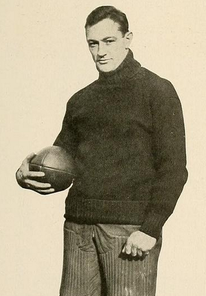 Leroy Mercer - Mercer pictured in Halcyon 1918, Swarthmore yearbook