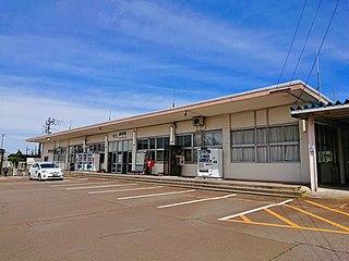 Arai Station (Niigata) Railway station in Myōkō, Niigata Prefecture, Japan