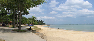 Land reclamation - East Coast Park in Singapore was built on reclaimed land with a man-made beach.
