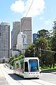 Eastbound 48 tram in Melbourne Australia.jpg