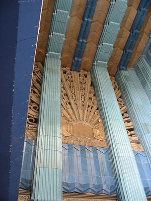 Sunburst - Image: Eastern Columbia Building entrance