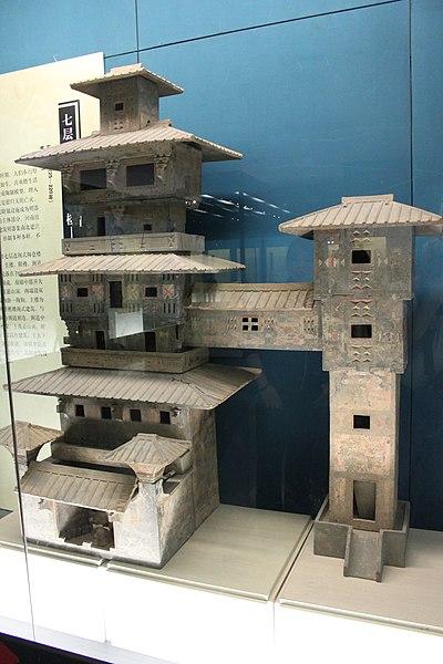 File:Eastern Han Pottery Tower -1.jpg