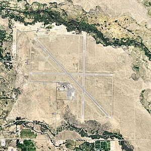 Eastern Sierra Regional Airport - USGS aerial photo as of 2006