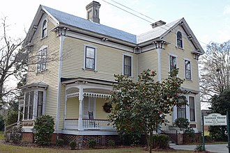 National Register of Historic Places listings in Dodge County, Georgia - Image: Eastman House, Eastman, GA, US