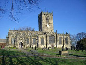 Listed buildings in Sheffield - Image: Ecclesfield Church