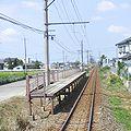Echizen Railway Jinaigurando-mae Station-Platform.jpg