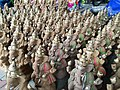Eco Friendly Ganpati Idols for sale at a roadside shop.jpg