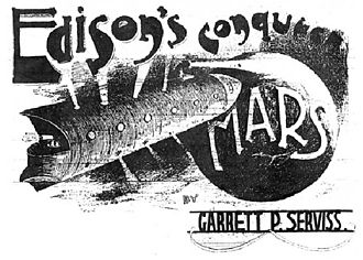 Edison's Conquest of Mars - 1898 illustration by GY Kauffman