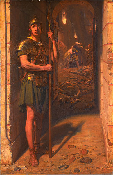 File:Edward John Poynter - Faithful Unto Death - Google Art Project.jpg