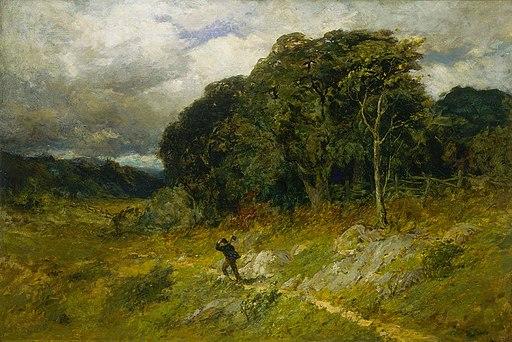 Edward Mitchell Bannister - Approaching Storm - 1983.95.62 - Smithsonian American Art Museum