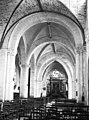Eglise - Nef, vue de l'entrée - Suèvres - Médiathèque de l'architecture et du patrimoine - APMH00031765.jpg
