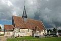 Eglise de Champ-Dolent, vue du cimetière.jpg