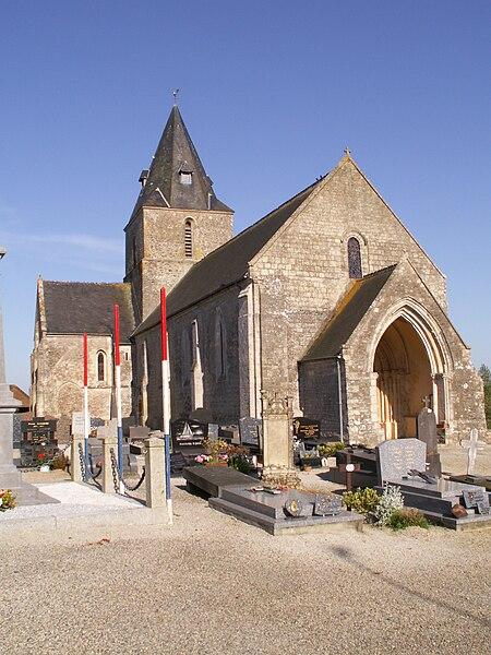 église de Montmartin-en-Graignes, Manche, France