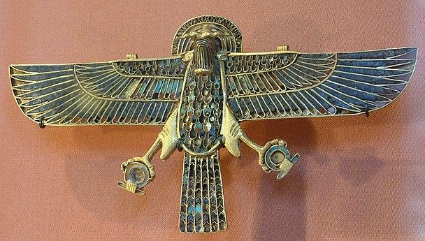 Egypte louvre 091 faucon