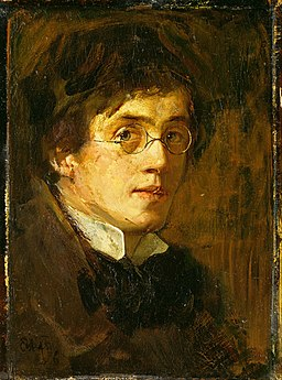 Eilif Peterssen - Self-Portrait - Google Art Project