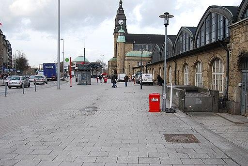 Eingang Tiefbunker Steintorwall