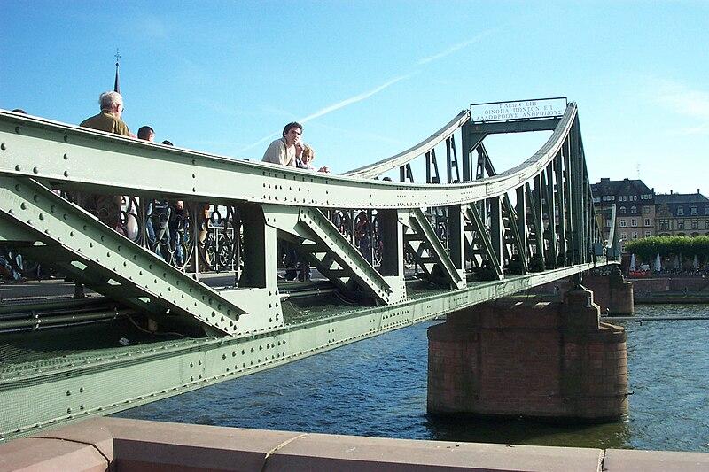 Eiserner Steg Frankfurt a.M
