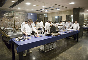 The kitchen at El Bulli