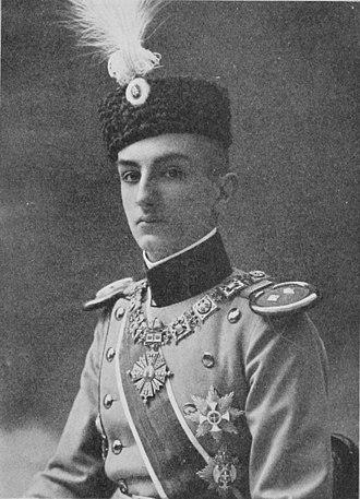 Order of St. Prince Lazar - Image: El Príncipe Jorge De Serbia dasknigreichse 03kaniuoft