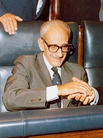 Manuel Gutiérrez Mellado - Manuel Gutiérrez Mellado in 1980