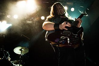 Doom metal - Jus Oborn of Electric Wizard.