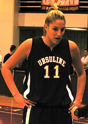 Elena Delle Donne - Delle Donne playing for Ursuline Academy in Delaware