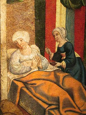 Elisabeth, mother of John the Baptist - Master from Villalcazar de Sirga.JPG