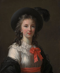 Elisabetha Vigée-Lebrun: Self-portrait