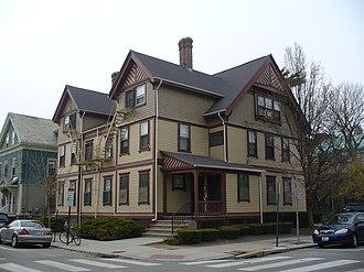 Frank W. Angell - Image: Elizabeth E. Gammell Duplex, Providence, RI
