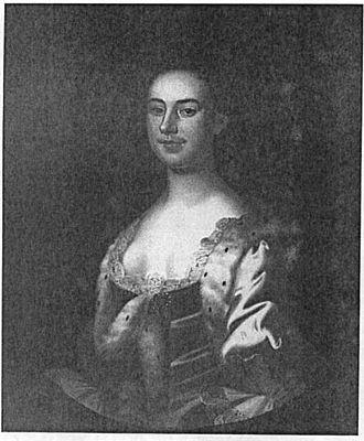 Charles Calvert (governor) - Charles Calvert's daughter Elizabeth Calvert, painted by John Wollaston. Baltimore Museum of Art.