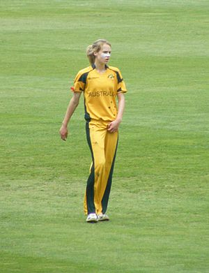 Perry at the 2009 Women's Cricket World Cup